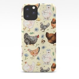 Chickens and Chicory iPhone Case