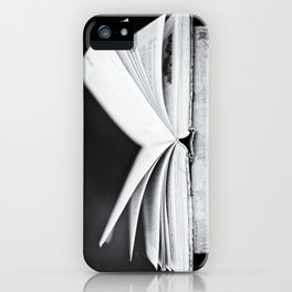 An Open Book iPhone Case