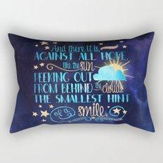 These Broken Stars - Smile Rectangular Pillow