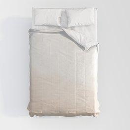 Watercolor Fade (unbleached silk/cultured) Comforters