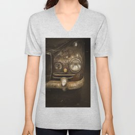 Rusty Car Unisex V-Neck
