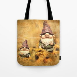 Gnomes in The Daisies Tote Bag