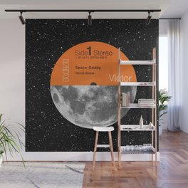 Space Oddity Wall Mural