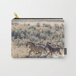 Running Mustangs, No. 1 Carry-All Pouch