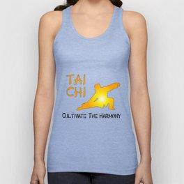 Tai Chi - Cultivate the Harmony Unisex Tank Top
