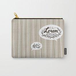 Designer SmallTalk Carry-All Pouch