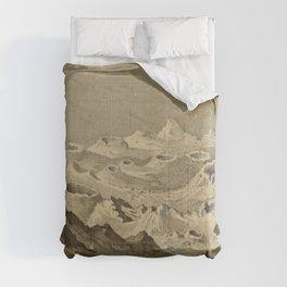 Lunar Landscape Comforters