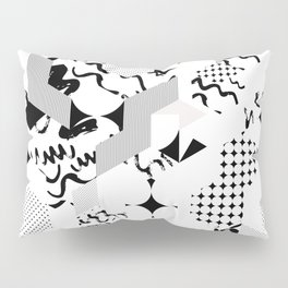 In between the lines and dots Pillow Sham