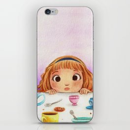 Mad Tea Party iPhone Skin