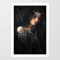 Devil in the Dark Art Print