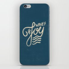 Waves of Joy iPhone & iPod Skin