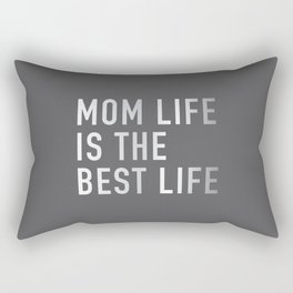 Mom Life is the Best Life Rectangular Pillow