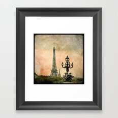 Les Anges de la Tour Eiffel - Paris Framed Art Print