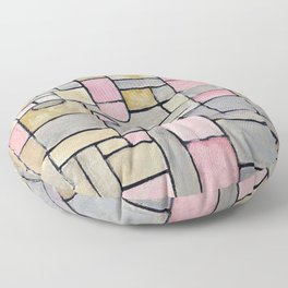Composition 8 - Piet Mondrian Floor Pillow