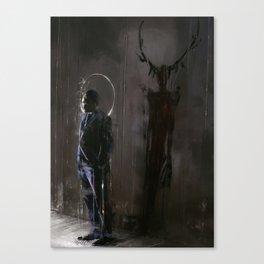 L'Ombra Canvas Print