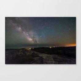 East Ridge Meteor Canvas Print