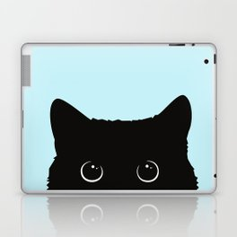 Black cat I Laptop & iPad Skin