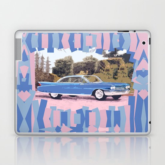 Cadillac Coupe De Ville, 1960 Laptop & iPad Skin