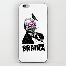 political zombie theme iPhone & iPod Skin