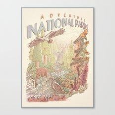 Adventure National Parks Canvas Print