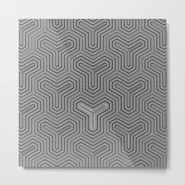 Odd one out Geometric Metal Print