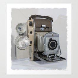 Vintage Polaroid Art Print