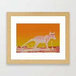 Running Out Of Time Framed Art Print