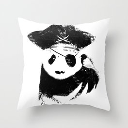 Bio Piracy Throw Pillow
