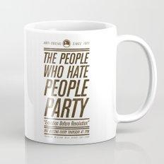 Don't Vote Now! Mug