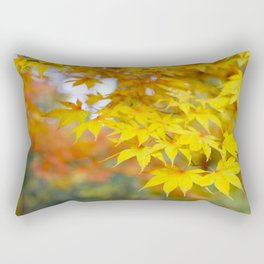Japanese maple in yellow and orange Rectangular Pillow