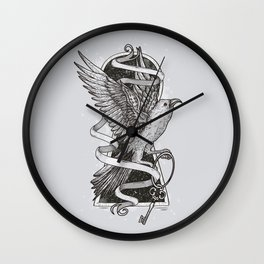 Key to the Universe Wall Clock