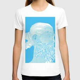 Hipster Neptune - seaspray T-shirt