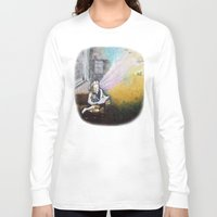 imagination Long Sleeve T-shirts featuring IMAGINATION by Vargamari