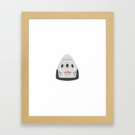 SpaceX Red Dragon Framed Art Print