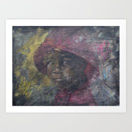 Swazi Art 15 Art Print