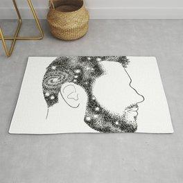 Head in Space Rug
