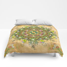 Mandala Flora Comforters