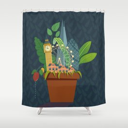 London Garden Shower Curtain