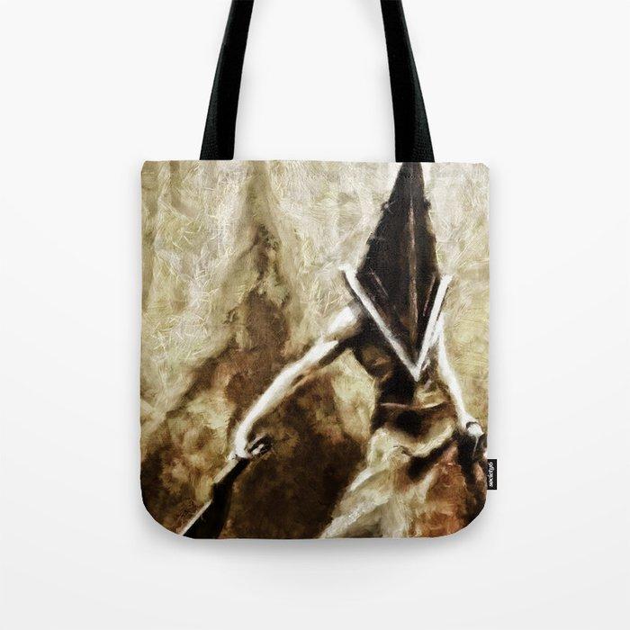 Silent Hill Pyramid Head Tote Bag By Joemisrasi Society6