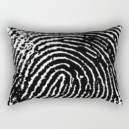 Fingerprint Rectangular Pillow