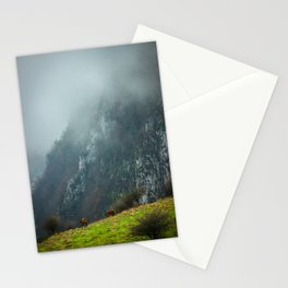 Mountains landscape Stationery Cards