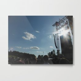 Milton Keynes National Bowl Metal Print