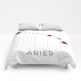 ARIES STAR CONSTELLATION ZODIAC SIGN Comforters