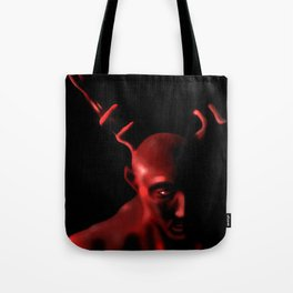 Red Wendigo Tote Bag