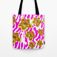 girly Tote Bags featuring girly by Ana Lu Grosso