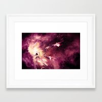 abyss Framed Art Prints featuring Abyss by Harold Urquiola