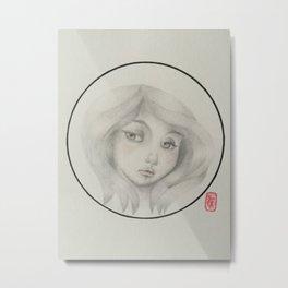 Heathcliff's Catherine Metal Print