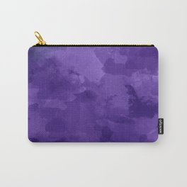 amethyst watercolor abstract Carry-All Pouch