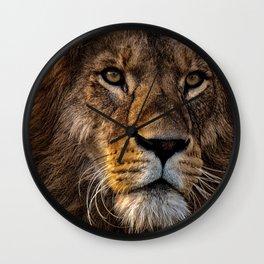 Majestic Lion Wall Clock
