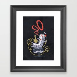 Caterpillar - Alice in Wonderland Framed Art Print